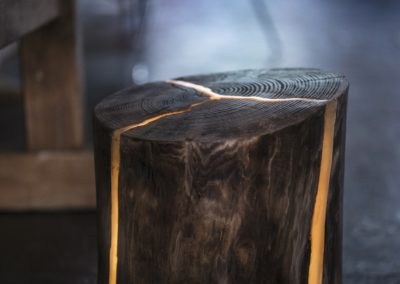 Lampa stojąca - Pniak