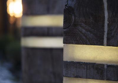 Lampa ogrodowa - Rustykalna